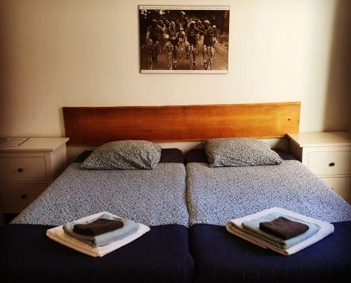 Heerlijk slapen in Hotel Au Bon Accueil