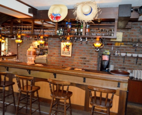 De bar van Hotel Rido