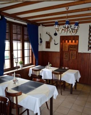 Het restaurant van Hotel Rido