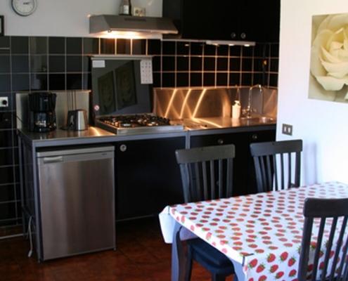 Keuken in Casa Bellissima
