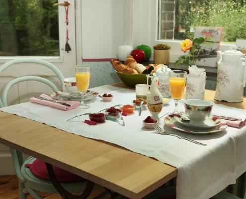 Ontbijt bij Villa Emma